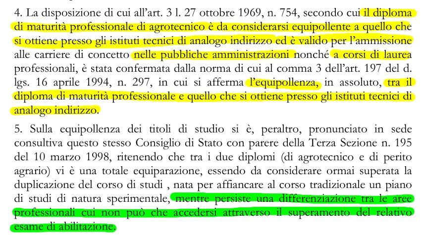 Consiglio di Stato 24.10.2012 n. 4335 estratto 1