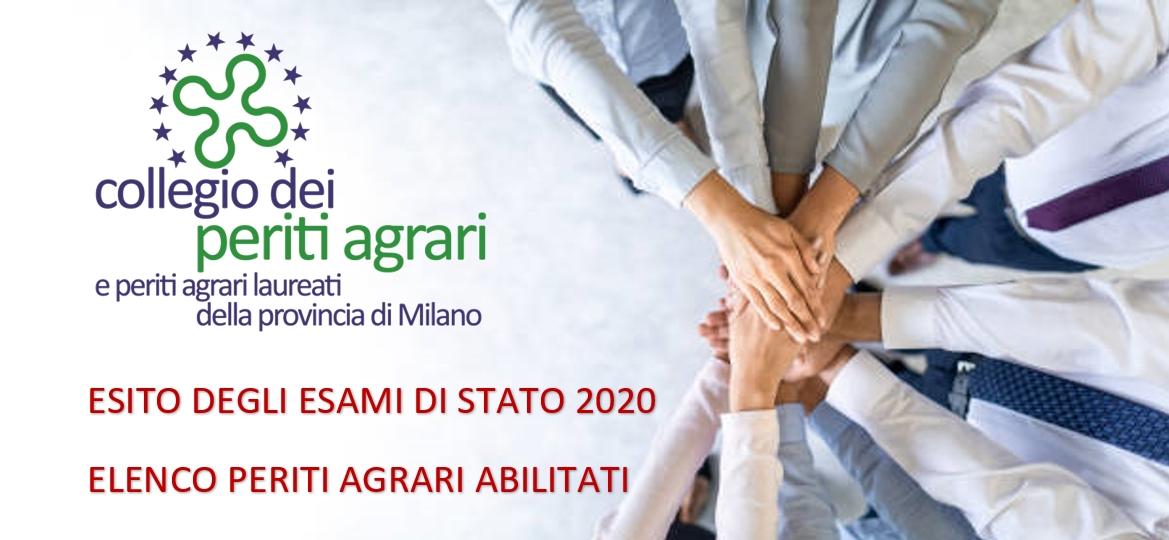 ESITO DEGLI ESAMI DI STATO 2020